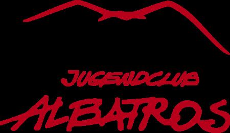 albatros-logo-rot-vogel-und-schrift